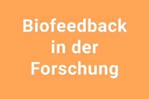 Forschung: Biofeedback beim chronischen Erschöpfungssyndrom